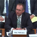 Mulvaney to Congress: 'Put me under appropriations'